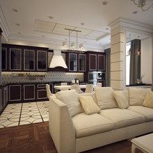 Фото из портфолио Наши работы (квартиры и дома) – фотографии дизайна интерьеров на InMyRoom.ru