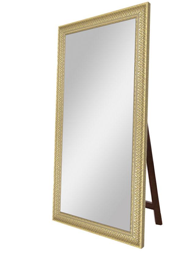 Купить Зеркало напольное Плетеное золото , inmyroom, Россия