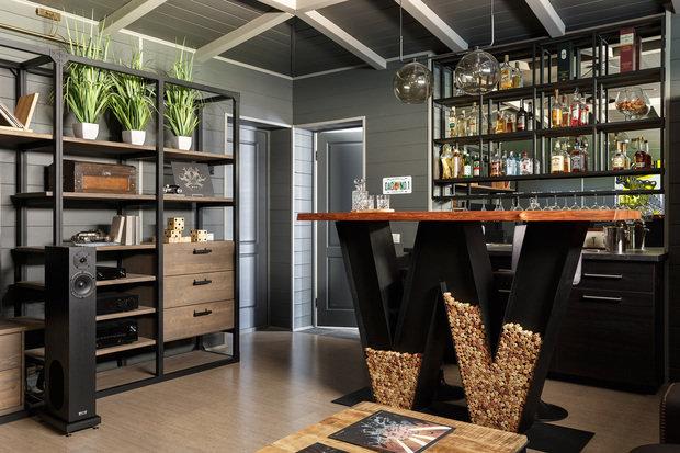 Фото из портфолио Farmhouse (дача в американском стиле) – фотографии дизайна интерьеров на INMYROOM
