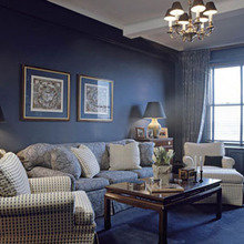 Фотография: Гостиная в стиле Кантри, Декор интерьера, Малогабаритная квартира, Квартира, Дома и квартиры – фото на InMyRoom.ru