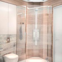 Фотография: Ванная в стиле Современный, Декор интерьера, Квартира, Дома и квартиры, Проект недели, SLV – фото на InMyRoom.ru