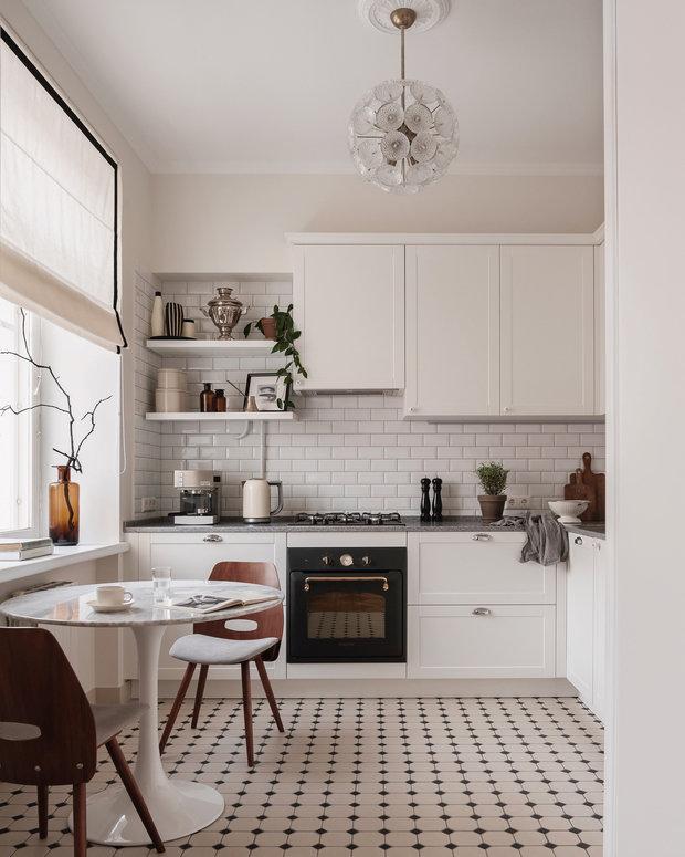 Фотография: Кухня и столовая в стиле Скандинавский, Проект недели – фото на INMYROOM