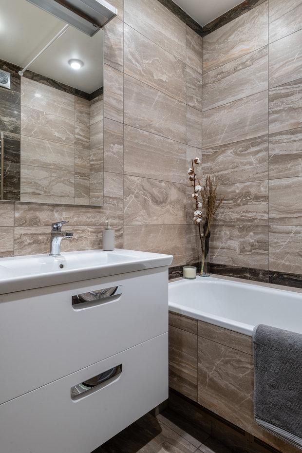 Фото из портфолио Квартира 62 м2. Практичные решения – фотографии дизайна интерьеров на INMYROOM