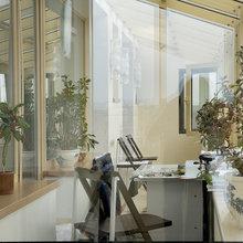 Фотография: Балкон, Терраса в стиле Кантри, Современный, Восточный, Декор интерьера, Квартира, Цвет в интерьере, Дома и квартиры, Белый, Пентхаус, Наталья Гусева – фото на InMyRoom.ru