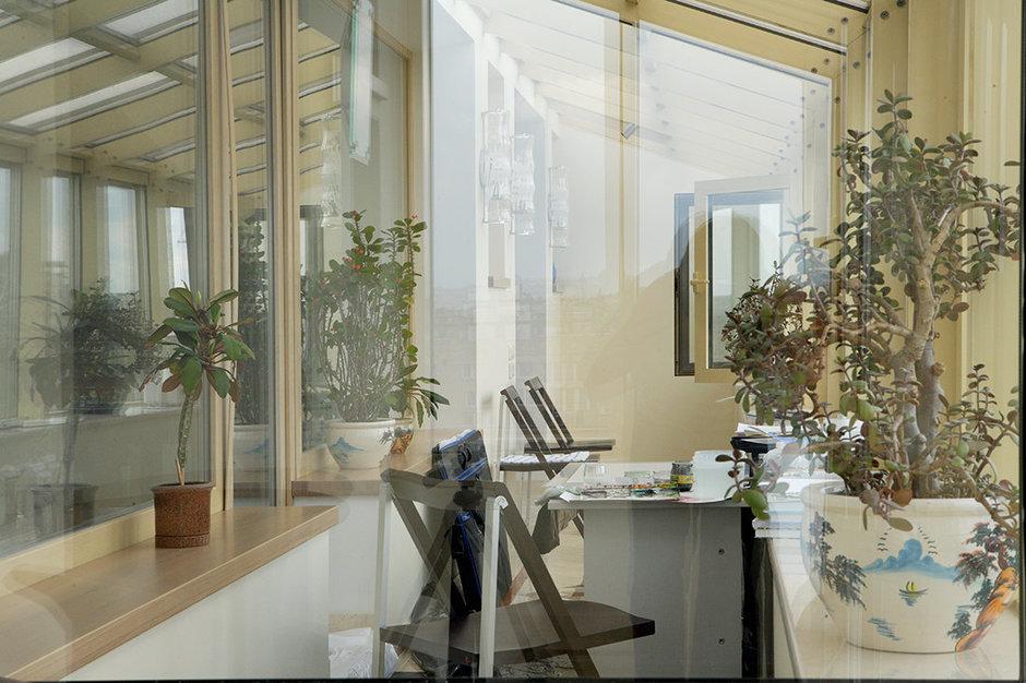 Фотография: Балкон, Терраса в стиле Прованс и Кантри, Современный, Восточный, Декор интерьера, Квартира, Цвет в интерьере, Дома и квартиры, Белый, Пентхаус, Наталья Гусева – фото на InMyRoom.ru