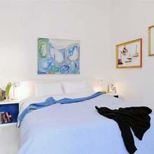 Фотография: Спальня в стиле Скандинавский, Квартира, Швеция, Дизайн интерьера – фото на InMyRoom.ru