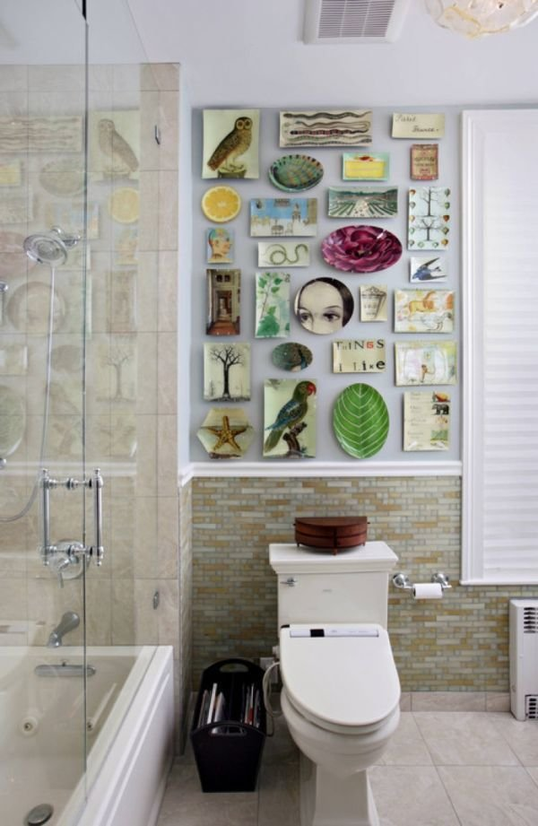 Фотография: Ванная в стиле Прованс и Кантри, Современный, Декор интерьера, Декор дома – фото на InMyRoom.ru