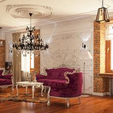 Фото из портфолио Нео Классик – фотографии дизайна интерьеров на INMYROOM