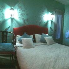 Фотография: Спальня в стиле Современный, Квартира, Дома и квартиры – фото на InMyRoom.ru