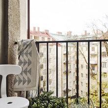 Фотография: Балкон в стиле Скандинавский, Декор интерьера, Квартира – фото на InMyRoom.ru