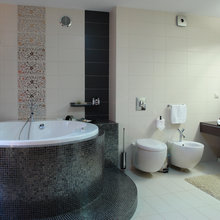 Фото из портфолио Квартира в двух уровнях в смешанном стиле. – фотографии дизайна интерьеров на INMYROOM