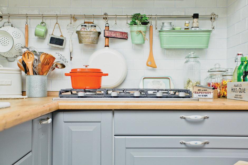 Фотография: Кухня и столовая в стиле Прованс и Кантри, Квартира, Дома и квартиры, IKEA – фото на InMyRoom.ru