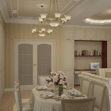 Фотография: Кухня и столовая в стиле Классический, Квартира, Дома и квартиры, Москва – фото на InMyRoom.ru