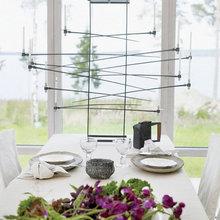 Фотография: Кухня и столовая в стиле Современный, Дом, Дома и квартиры, Большие окна, Дом на природе – фото на InMyRoom.ru