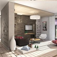 Фото из портфолио квартира 135 кв м – фотографии дизайна интерьеров на INMYROOM