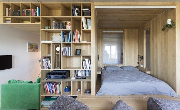 Фотография: Спальня в стиле Современный, Минимализм, Гид – фото на INMYROOM