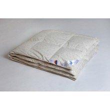 Одеяло пуховое кассетное теплое детское Камелия