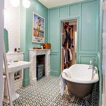 Фотография: Ванная в стиле Кантри, Дизайн интерьера, Лондон, Викторианский – фото на InMyRoom.ru