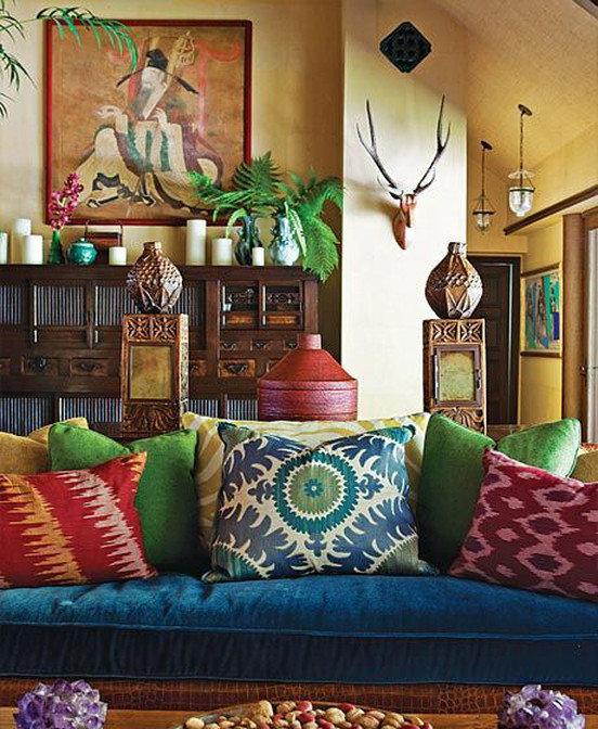 Фотография: Декор в стиле Восточный, Эклектика – фото на INMYROOM