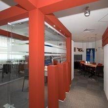Фото из портфолио Офис компании Gloria – фотографии дизайна интерьеров на INMYROOM