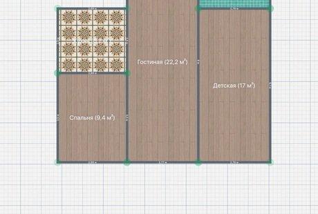 Помогите выбрать перепланировку квартиры