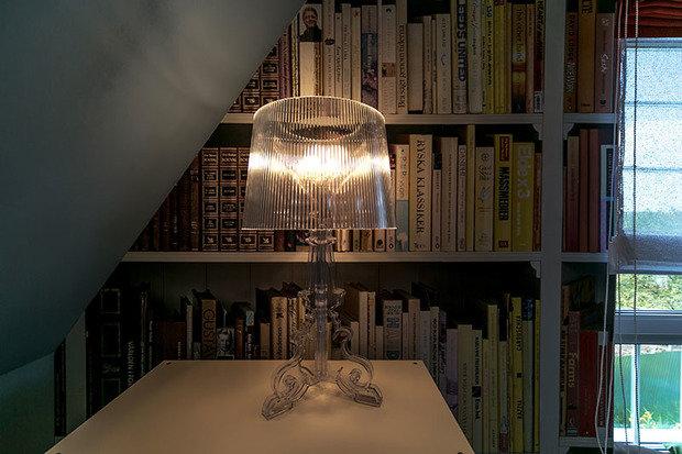 Фотография: Мебель и свет в стиле Современный, Спальня, Лофт, Интерьер комнат, Дача, Дачный ответ, Библиотека, Мансарда – фото на InMyRoom.ru