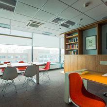 Фото из портфолио Офис компании Б2Б центр – фотографии дизайна интерьеров на InMyRoom.ru