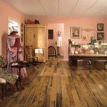 Фотография: Кабинет в стиле Кантри, Декор интерьера, Декор дома, Пол – фото на InMyRoom.ru