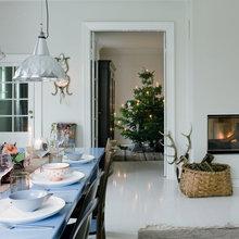 Фото из портфолио Рождество в цветочных деталях – фотографии дизайна интерьеров на INMYROOM