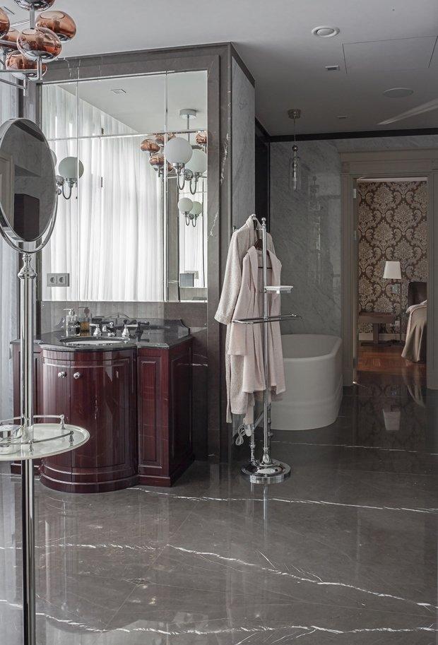 Фото из портфолио Квартира 457 м2 на Новом Арбате, Москва – фотографии дизайна интерьеров на INMYROOM