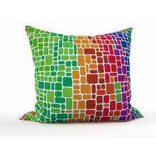 Интерьерная подушка: Цветные кирпичики
