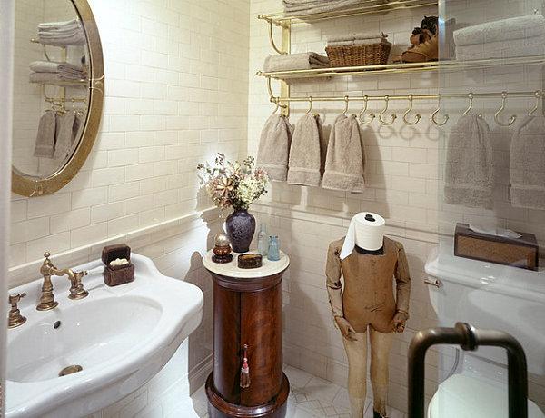 Фотография: Ванная в стиле Прованс и Кантри, Декор интерьера, Дом, Декор, Декор дома, Цвет в интерьере – фото на InMyRoom.ru