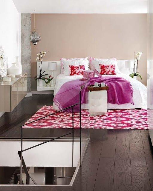 Фотография: Спальня в стиле Современный, Восточный, Декор интерьера, Дизайн интерьера, Цвет в интерьере – фото на InMyRoom.ru