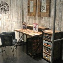 Фотография: Офис в стиле Кантри, Современный, Детская, Интерьер комнат, Шкаф, Шебби-шик, Стеллаж, Стрит-арт – фото на InMyRoom.ru