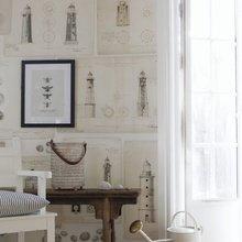 Фотография: Декор в стиле Кантри, Декор интерьера, Квартира, Аксессуары, Советы, чем украсить пустую стену, идеи декора пустой стены – фото на InMyRoom.ru
