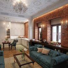 Фото из портфолио Квартира на Сретенке – фотографии дизайна интерьеров на INMYROOM