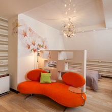 Фото из портфолио Двухуровневая квартира в Нижнем Новгороде – фотографии дизайна интерьеров на INMYROOM