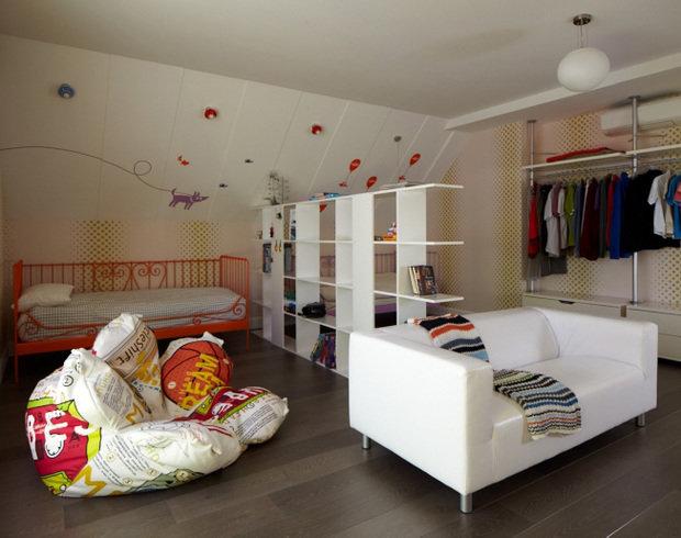 Фотография: Детская в стиле Современный, Эклектика, Дом, Дома и квартиры, Проект недели – фото на InMyRoom.ru