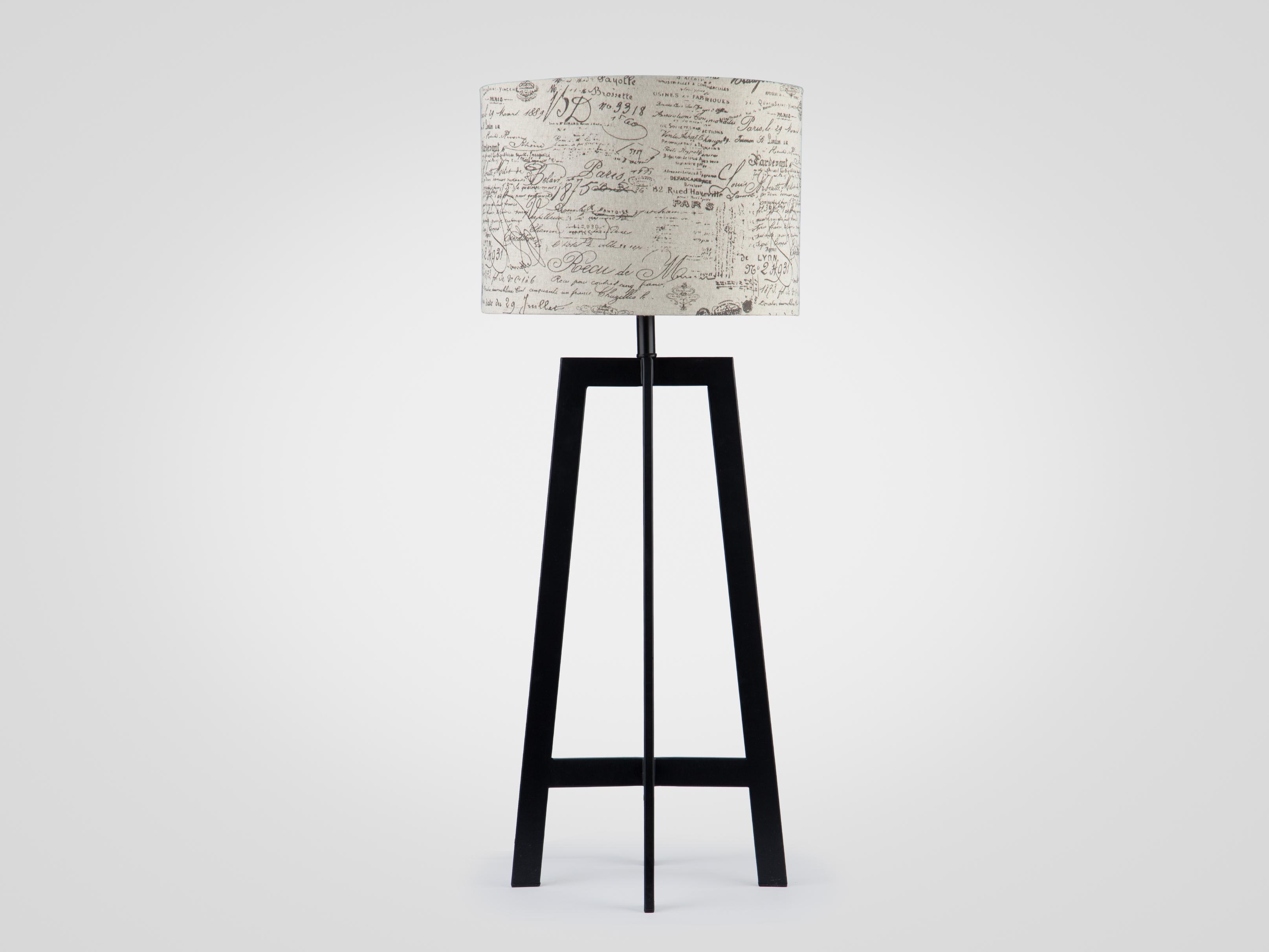 Купить Настольная лампа высокая на высокой металлической ножке, inmyroom