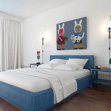 Фотография: Спальня в стиле Современный, Декор интерьера, Квартира, BoConcept, Eichholtz, Дома и квартиры, IKEA, Проект недели – фото на InMyRoom.ru