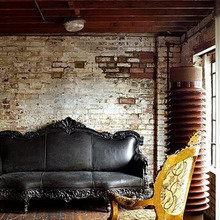 Фотография: Гостиная в стиле Кантри, Классический, Лофт, Современный, Эклектика – фото на InMyRoom.ru