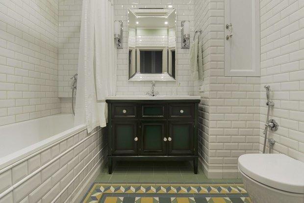 Фотография: Ванная в стиле Классический, Гид – фото на INMYROOM