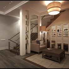 Фото из портфолио Проект таунхауса  – фотографии дизайна интерьеров на INMYROOM