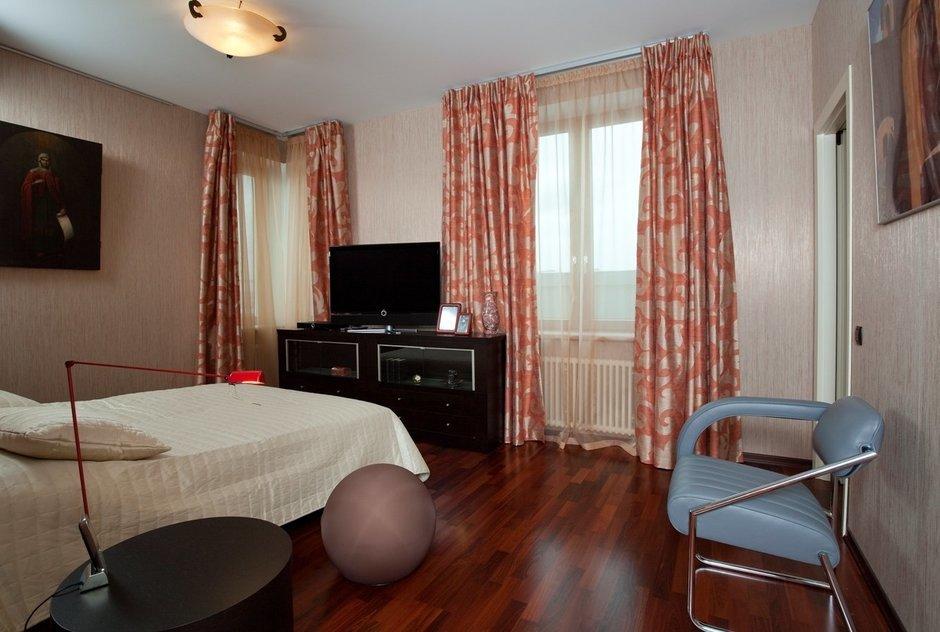 Фотография: Спальня в стиле , Квартира, Дома и квартиры, Пентхаус – фото на InMyRoom.ru
