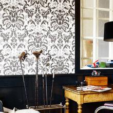 Фотография: Декор в стиле Кантри, Классический, Современный, Декор интерьера, Дизайн интерьера, Цвет в интерьере, Обои, Стены, Эко – фото на InMyRoom.ru