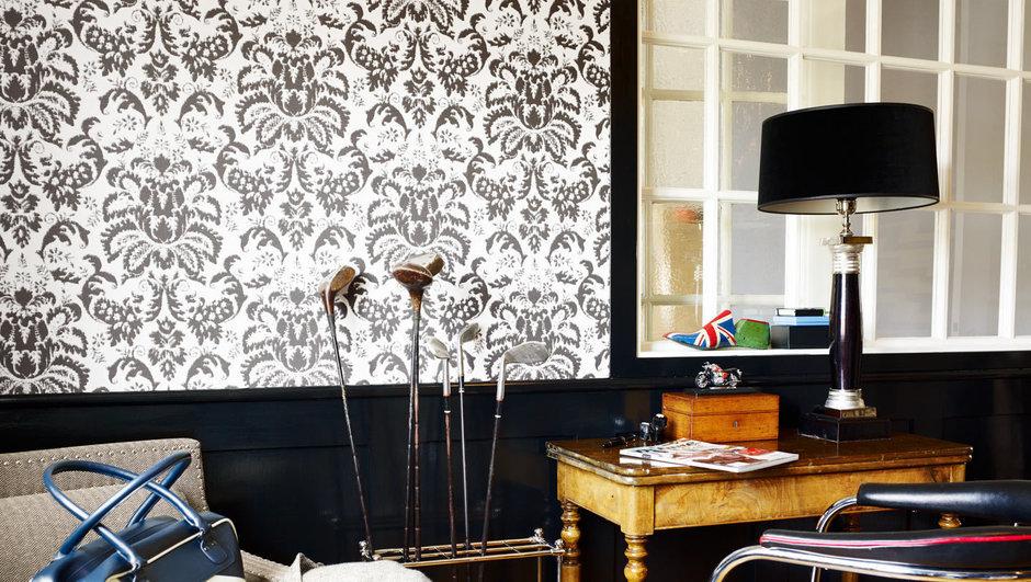 Фотография: Декор в стиле Прованс и Кантри, Классический, Современный, Декор интерьера, Дизайн интерьера, Цвет в интерьере, Обои, Стены, Эко – фото на InMyRoom.ru