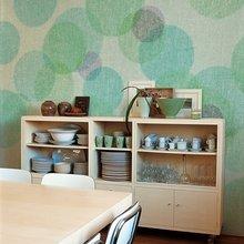 Фотография: Кухня и столовая в стиле Современный, Декор интерьера, Декор дома, Обои, Стены – фото на InMyRoom.ru