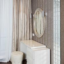 Фото из портфолио Шторы в спальню. Изящные решения Светланы Антонович – фотографии дизайна интерьеров на INMYROOM