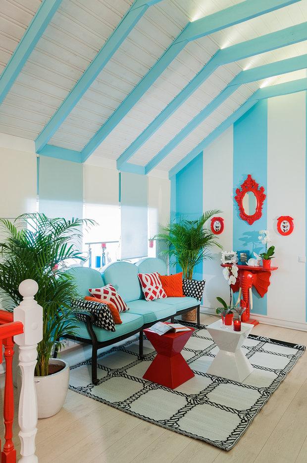 Фотография: Гостиная в стиле Восточный, Квартира, Дома и квартиры – фото на InMyRoom.ru