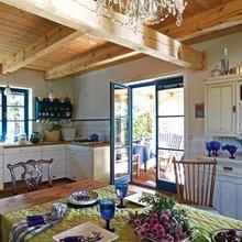 Фотография: Кухня и столовая в стиле Кантри, Дом, Польша, Дом и дача – фото на InMyRoom.ru